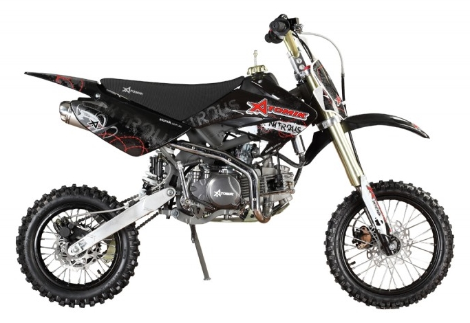 160cc Midsized Nitrous Pit Bike Black