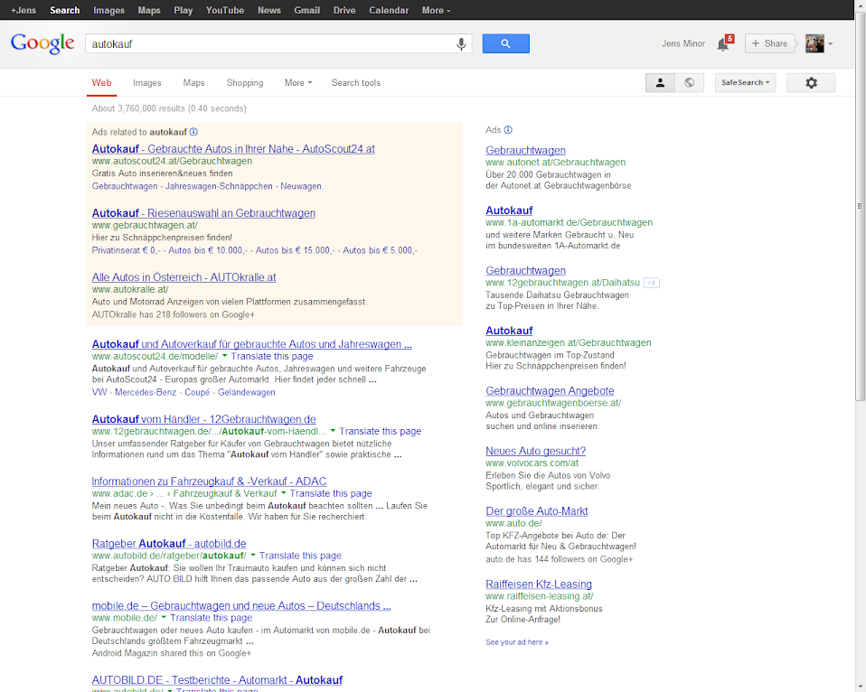 Google Search Desktop
