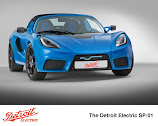Detroit Electric SP:01 unveiled
