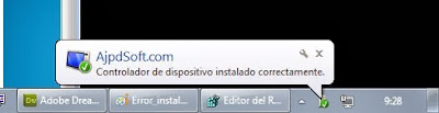 Solución al error Código 19 al instalar dispositivo Samsung Galaxy en Windows 7