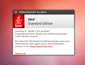 Oracle Java 8 su Ubuntu