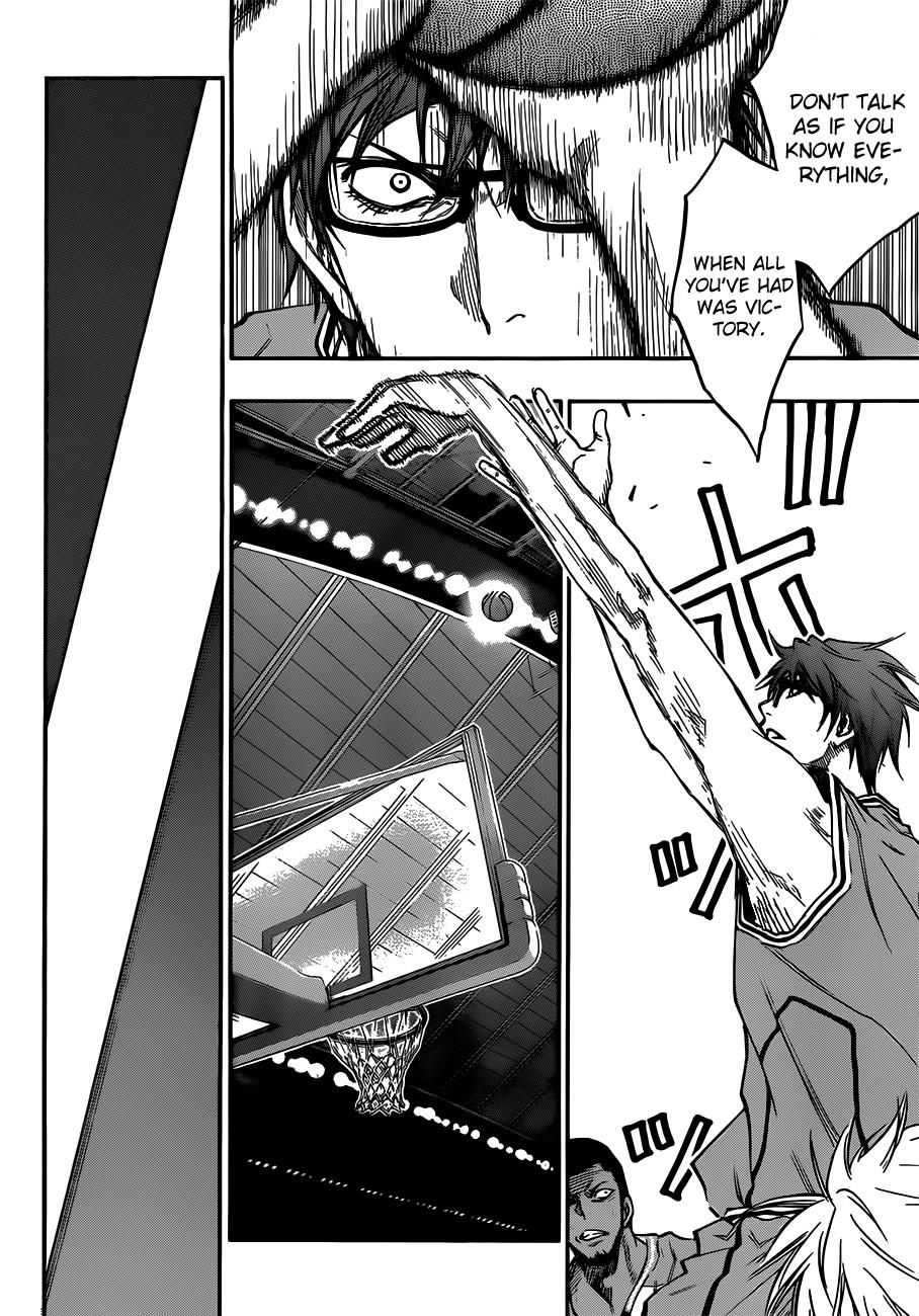 Kuroko no Basket Manga Chapter 175 - Image 18