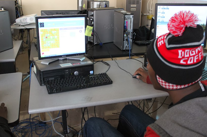 Hour of Code--Ralph Bunche High School