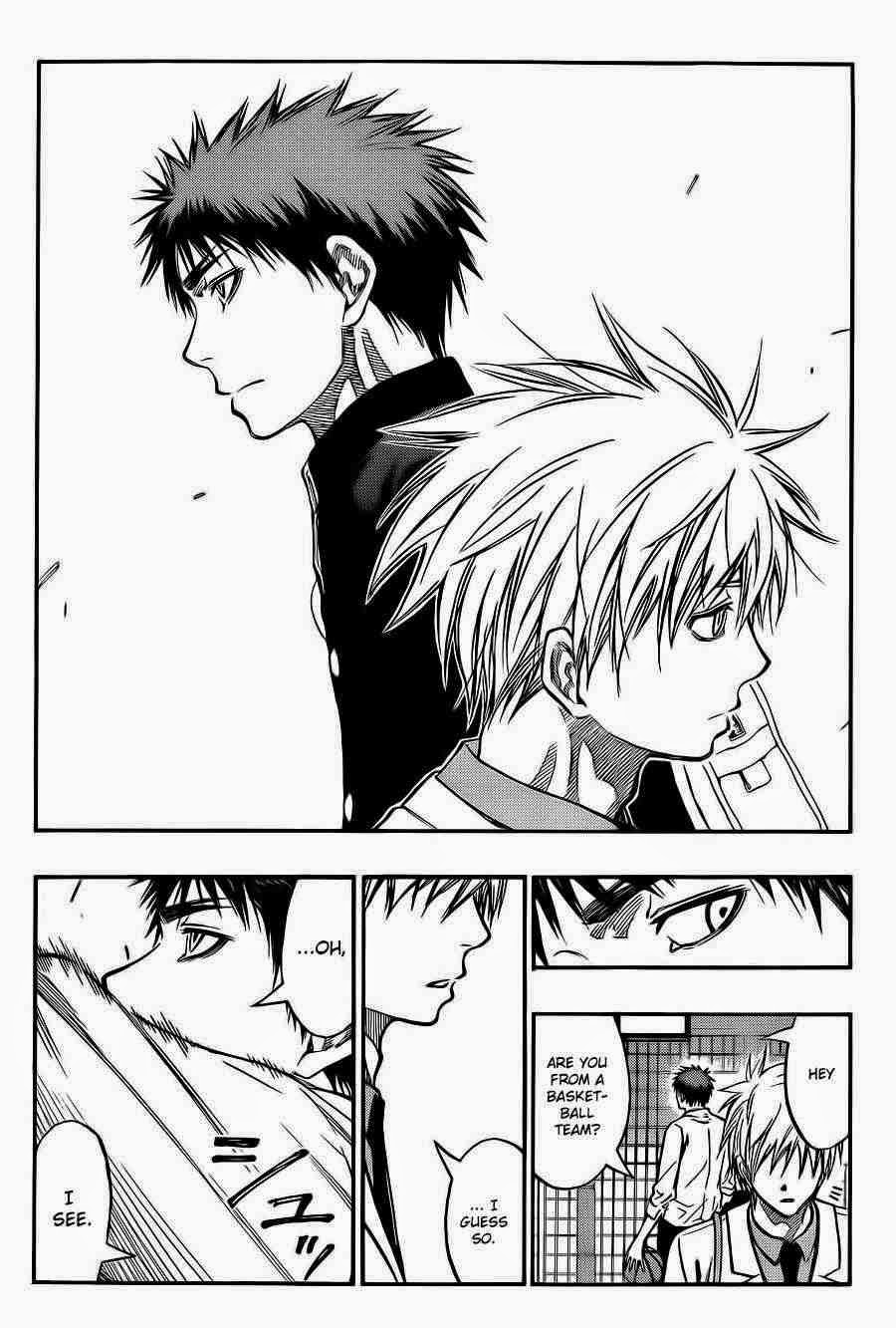 Kuroko no Basket Manga Chapter 223 - Image 18
