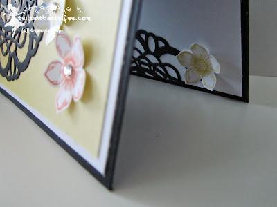 stampin up, petite petals, paper doily, zierdeckchen