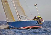 J/122 Anam Cara sailing on Oregon Offshore race
