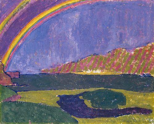 Giovanni Giacometti - Rainbow