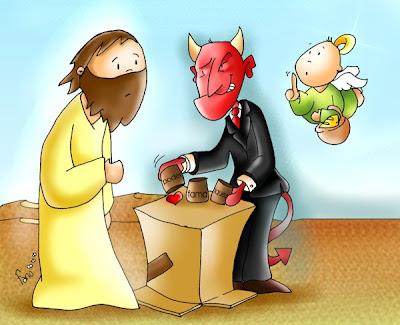Resultado de imagen para imagenes de Mateo 4,1-11 para niños