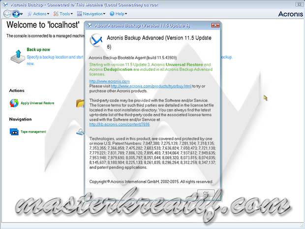 Acronis Backup Advanced 11.5