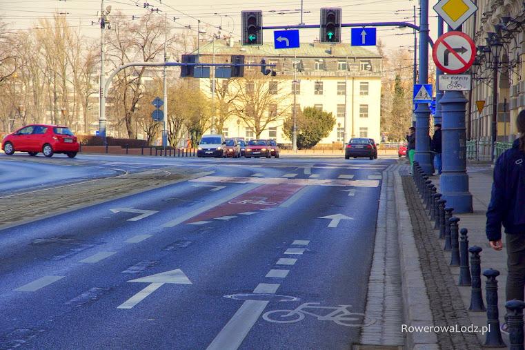Tutaj rowerem można bezpiecznie pojechać w każdym kierunku.