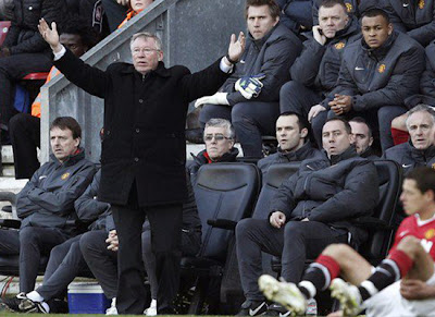 Sir Alex Ferguson Man Utd 2011, Manager Manchester United
