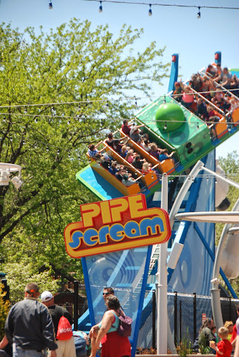 Pipe Scream. From Cedar Point Roller Coaster Guide: Advice from a Local