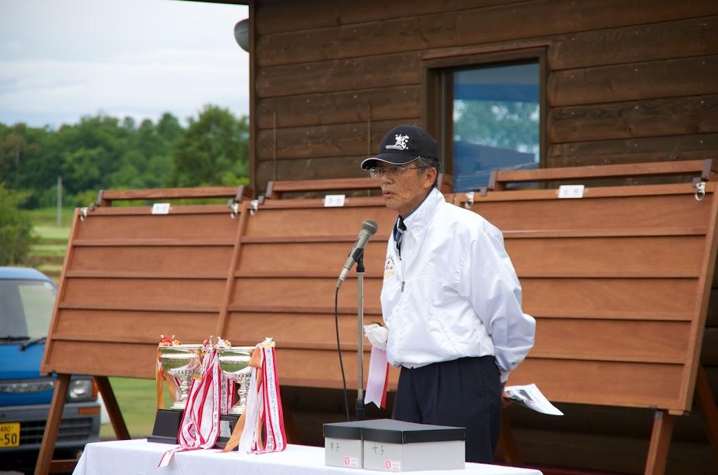 日本パークゴルフ協会・菅田至 副会長