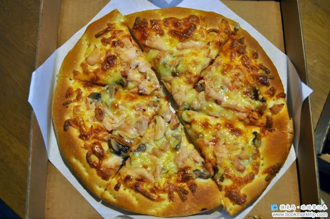 義大利披薩屋燻雞蘑菇披薩9吋
