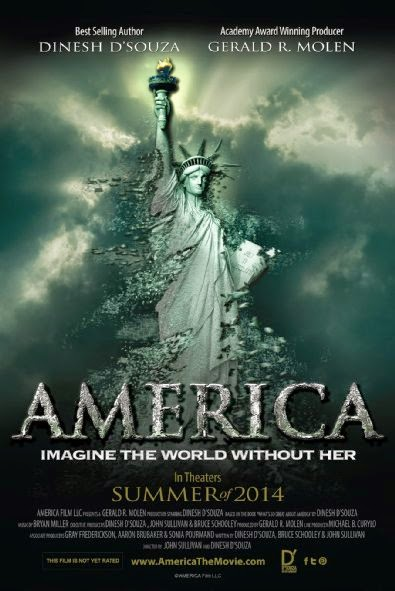 Poster Of English Movie America: Imagine the World Without Her (2014) Free Download Full New Hollywood Movie Watch Online At Alldownloads4u.Com