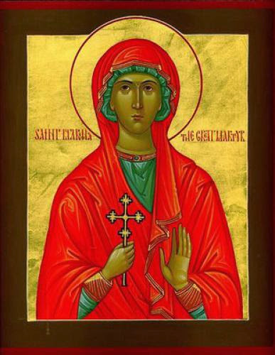 Greatmartyr Marina Margaret Of Antioch In Pisidia