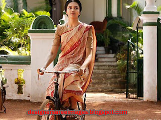 Actress Deepika Padukone in Cotton Handloom Saree