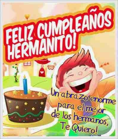 Mejores deseos de cumpleaños para un hermano por su onomástico