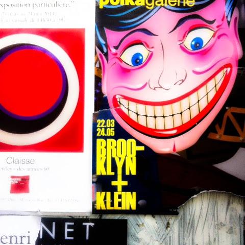 Affiche Brooklyn + William Klein à la Polka Galerie