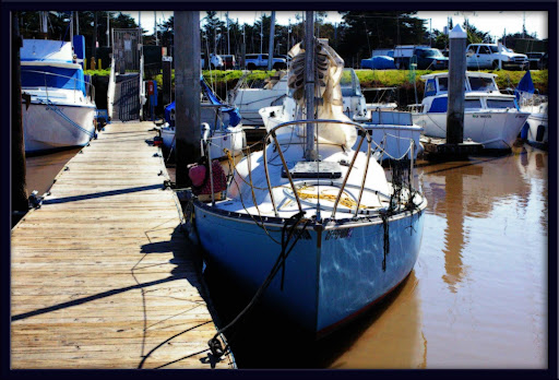 ... 1974 C&C 25-foot sloop (made in Ontario, Canada), John and I are now the ...