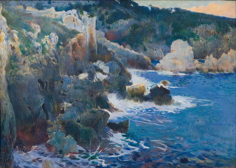 Joaquim Mir - Cala Encantada (Majorca) (circa 1901)