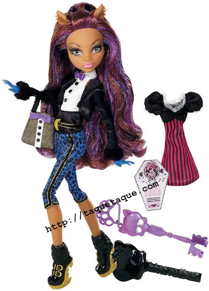 Monster High - Clawdeen Wolf Sweet 1600
