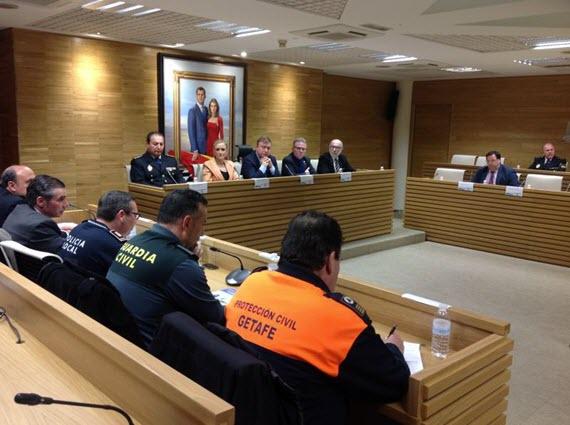 Un 7,2% menos de delincuencia en Getafe en 2014