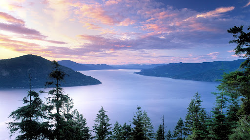 Lake Pend Oreille at Sunset, Idaho.jpg