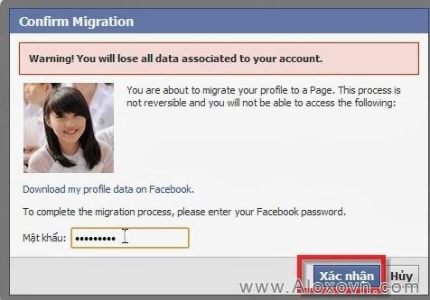Hướng dẫn chuyển trang cá nhân facebook thành fanpage - hướng dẫn 7