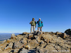 On top of Mt St Helena