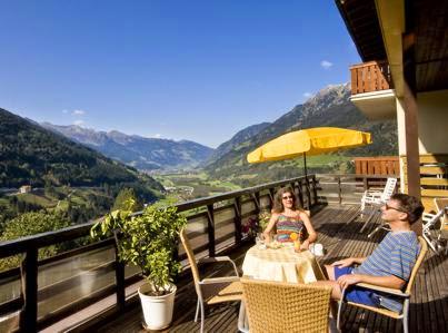 Sonnenterasse im Hotel Alpenblick