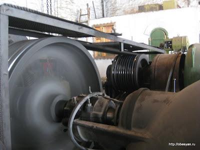 Машинное отделение Порожской ГЭС