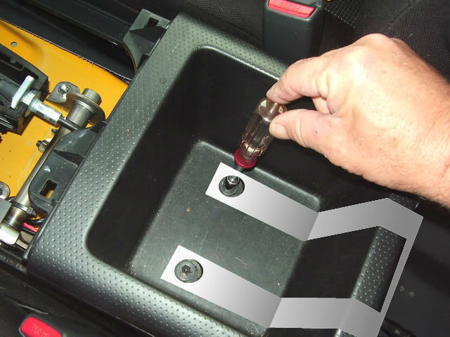 Mounting a Full Size CB Radio (WITHOUT cutting/drilling) Console
