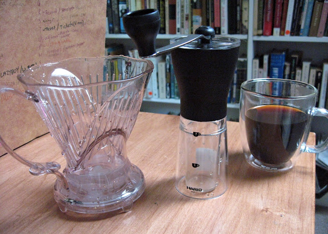 Hario Slim Mill, Clever Coffee Dripper, and Bodum Bistro Glass Mug: Three Ways to Improve Your Drip Style Coffee