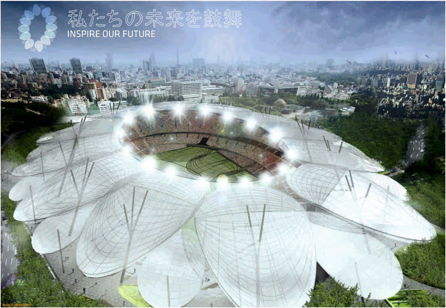 Tokyo, Giappone: [JAPAN NATIONAL STADIUM BY JACKSON ARCHITECTURE]