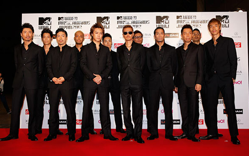 EXILE on the red carpet | MTV Video music awards Japan 2012