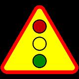 znak sygnalizacji świetlnej