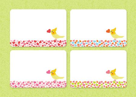 ... ミニ カード の テンプレート : ミニカード テンプレート 無料 : カード