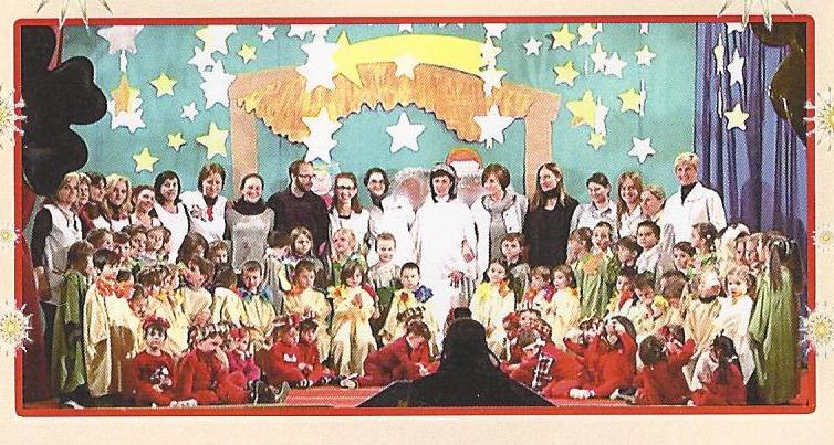 La recita di Natale alla scuola dell'Infanzia San Luigi