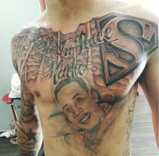 superman Chest Tattoos