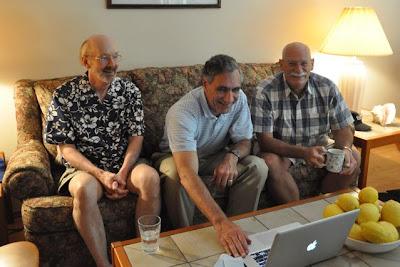 Steve Woodward, John Biancamano, Ken Shultz - July 2011