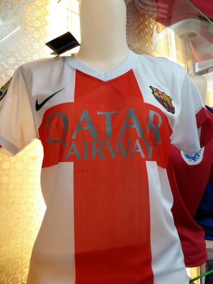 Jual Jersey Ladies Barcelona 3rd 2015 Leaked