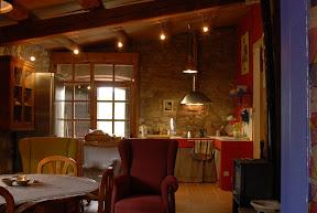 sala d'estar cuina menjador l'Estable
