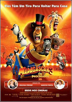 Filme Poster Madagascar 3 - Os Procurados DVDRip XviD Dual Audio & RMVB Dublado