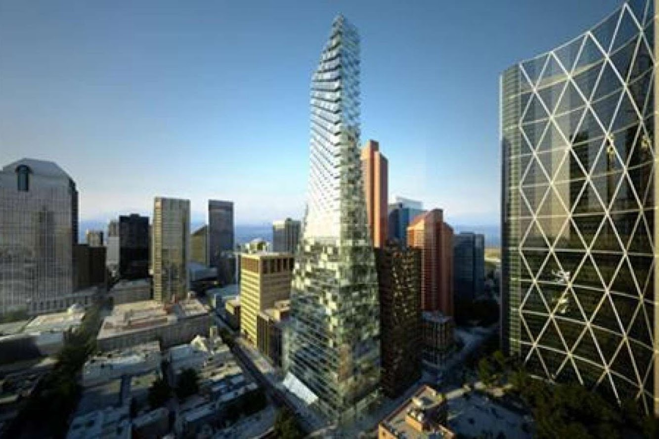 Calgary, Alberta, Canada: Telus Sky Tower by Big