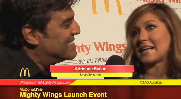 Erik Estrada is on the lookout for the missing McDonald's Mighty Wings