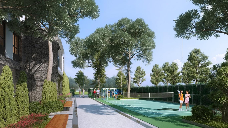 thiết kế xanh sunshine garden