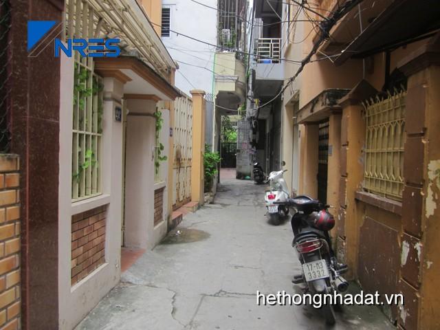 Mua bán nhà đất Hà Nội_Bán nhà trong ngõ Hoàng Quốc Việt