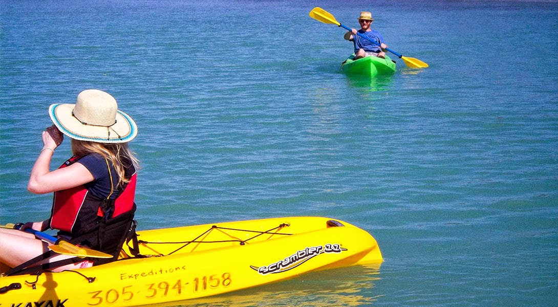 Kayaking in Key Largo is a fun way for discover the incredible backcountry areas.