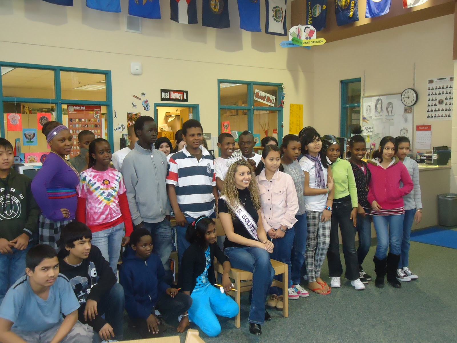 .south park middle school food drive benefits local food bank south